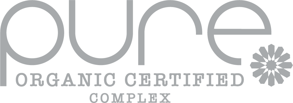 pure hair colour logo - organic certified complex